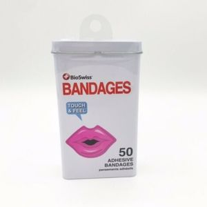 """Kiss My Boo Boo"" Lips - Adhesive Bandages  50ct"